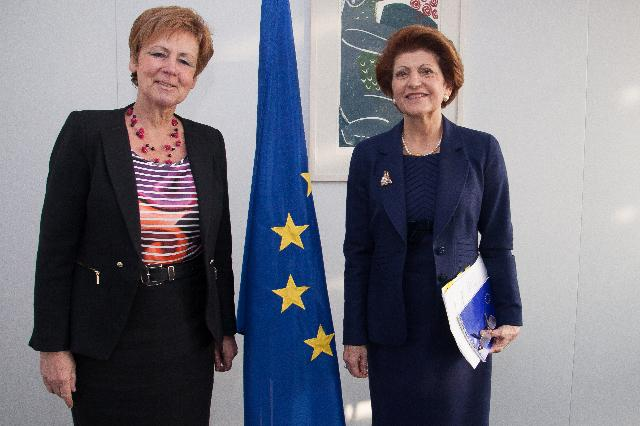 Visit of Daria Nałęcz, Polish Undersecretary of State at the Ministry of Science and Higher Education, to the EC