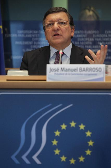 Participation of José Manuel Barroso, President of the EC, in the plenary session of the European Economic and Social Committee
