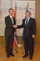 Visit of Jens Stoltenberg, Norwegian Prime Minister, to the EC