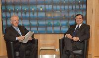 Visite de Mario Monti, président du Conseil des ministres italien et ministre de l'Economie et des Finances, à la CE