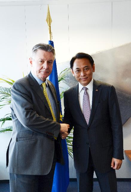 Visit of Boonsong Teriyapirom, Thai Minister for Commerce, to the EC