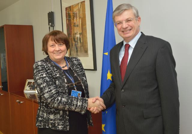 Visit of Laimdota Straujuma, Latvian Minister for Agriculture, to the EC
