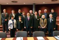 Visite d'une délégation du Parlement tchèque à la CE