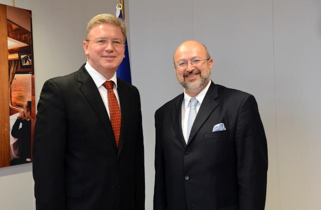 Visit of Lamberto Zannier, Secretary General of the OSCE, to the EC