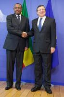 Visit of Hailemariam Desalegn, Ethiopian Prime Minister, to the EC