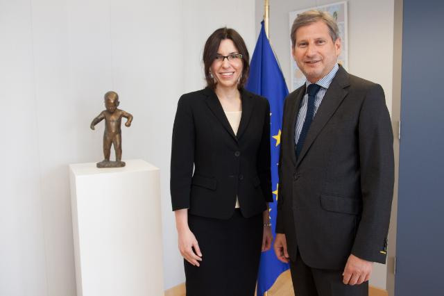 Visit of Iliyana Tsanova, Bulgarian Deputy Prime Minister and Minister for EU Funds in the Caretaker Government, to the EC