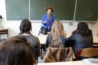 Participation of Androulla Vassiliou, Member of the EC, at a reading event organised at the Koninklijk Atheneum Etterbeek, as part of the