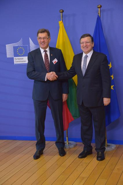 Visit of a delegation from the Lithuanian government to the EC