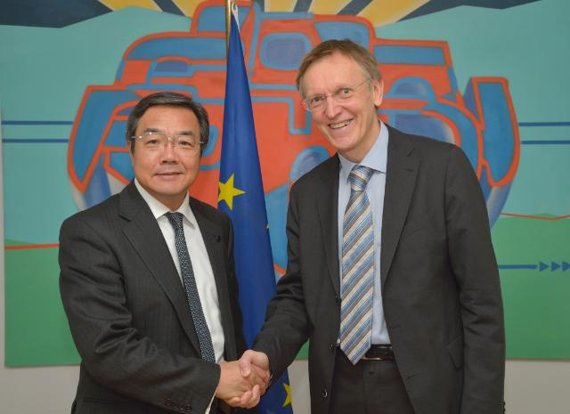 Visit of Koji Sekimizu, Secretary General of the IMO, to the EC