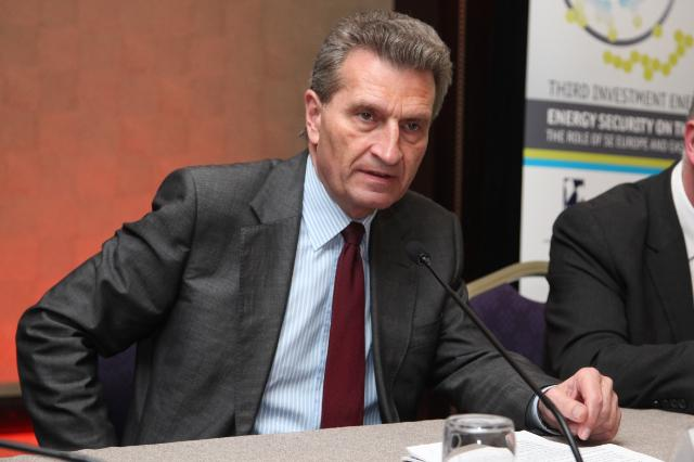 Participation of Günther Oettinger, Member of the EC, at the 3rd Investment Energy Summit