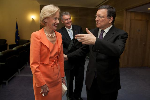 Visit of Quentin Bryce, Governor-General of the Commonwealth of Australia, to the EC