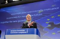 Press conference by Michel Barnier, Member of the EC, on the new funds to make long-term investment easier