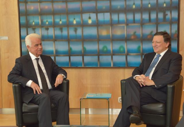 Visit of Derviş Eroğlu, Leader of the Turkish Cypriot Community, to the EC