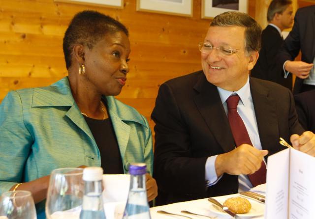 Visite de José Manuel Barroso, président de la CE, en Autriche