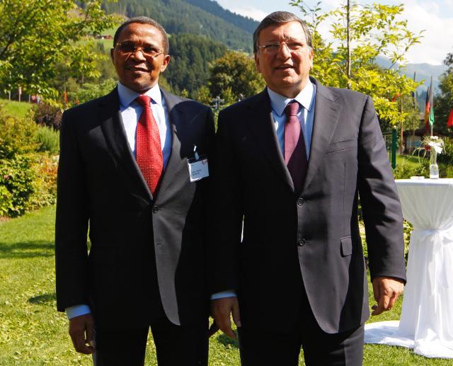 Visit of José Manuel Barroso, President of the EC, to Austria
