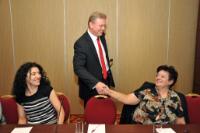 Participation de Štefan Füle et Androulla Vassiliou, membres de la CE, au troisième Dialogue informel du Partenariat oriental, organisé à Erevan