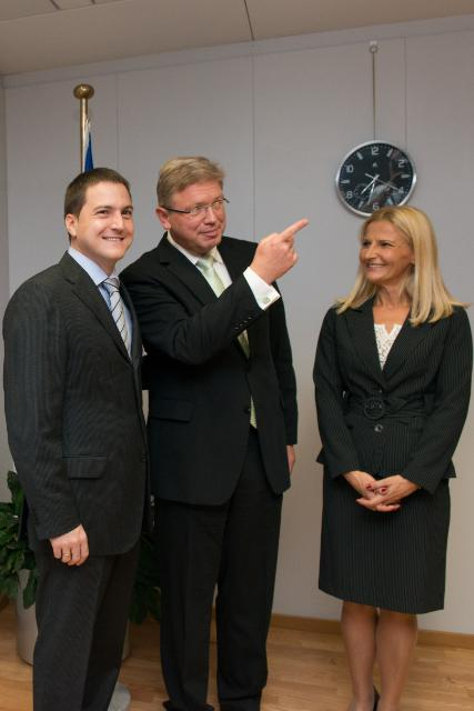 Visit of Tanja Miščević, Chief Negotiator for Serbia's accession negotiations with the EU, and Branko Ružić, Serbian Minister without portfolio in charge of European Integration, to the EC