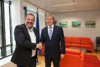 Visit of Rafael Hernández, President of the regional section of the Spanish agricultural association COAG for the Canary Islands, to the EC