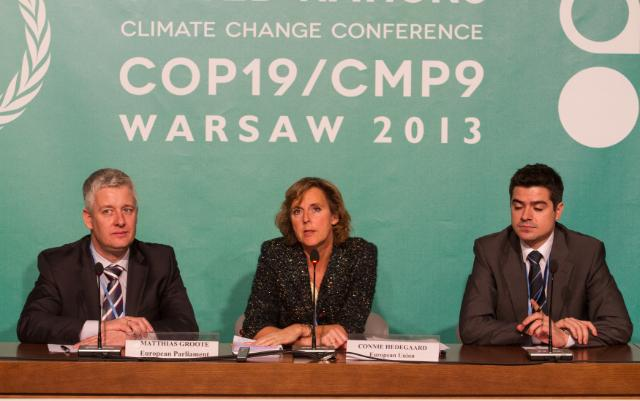 COP19/CMP9 United Nations Climate Change Conference, Warsaw, 11-22/11/2013