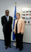 Visit of Denis Mukwege, Founder and Medical Director of the Panzi Hospital in Bukavu, to the EC