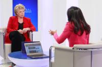 Live interview of Viviane Reding, Vice-President of the EC, for YouTube and Euronews