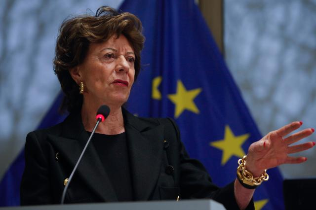 Participation of Neelie Kroes, Vice-President of the EC, in a workshop of the EU's app sector