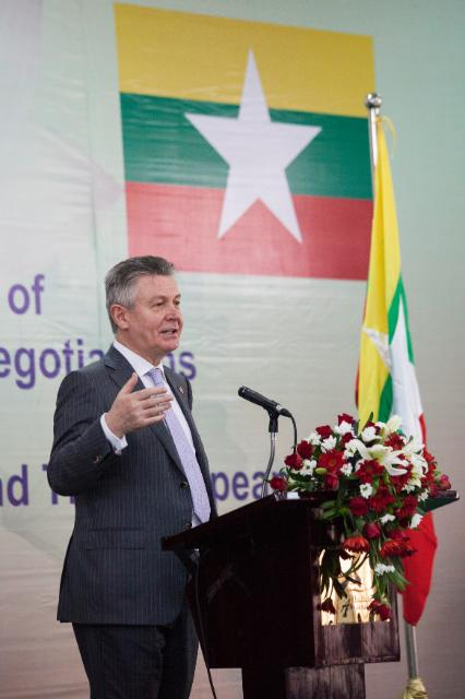 Visit of Karel De Gucht, Member of the EC, to Myanmar/Burma