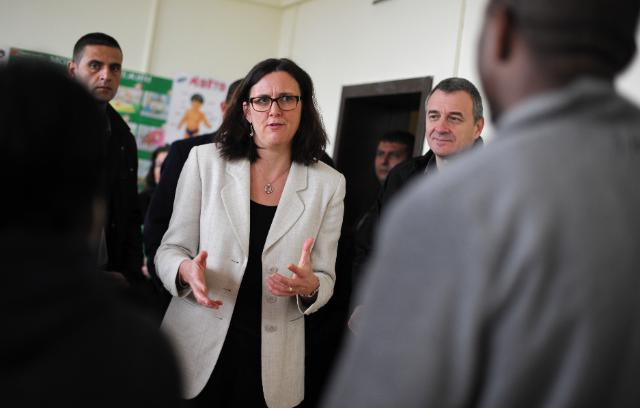 Visit of Cecilia Malmström, Member of the EC, to Bulgaria
