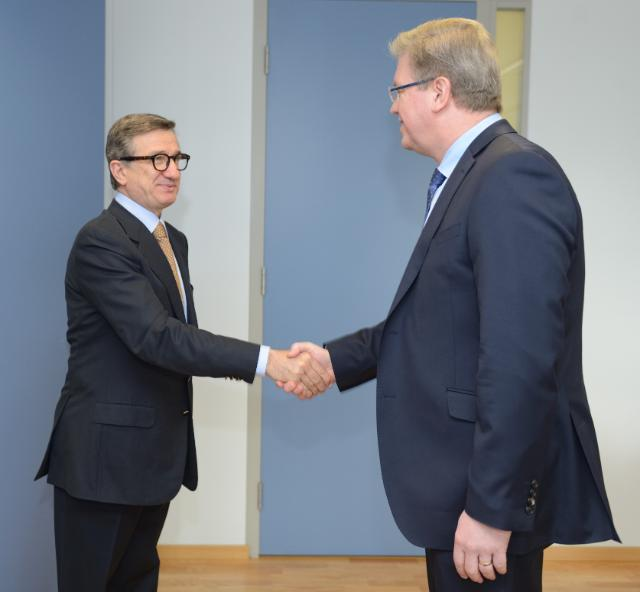 Visit of Serhiy Taruta, Governor of the Donetsk region, to the EC