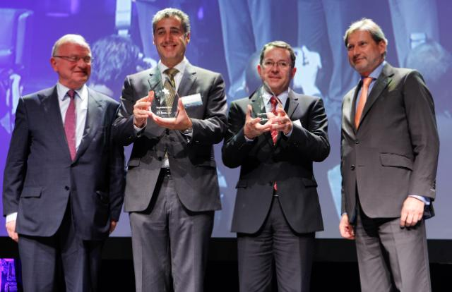 Participation of Johannes Hahn, Member of the EC, at the RegioStars Awards ceremony 2014