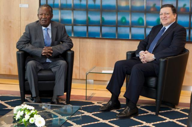 Visit of Michael Chilufya Sata, President of Zambia, to the EC