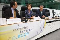 Participation of Androulla Vassiliou, Member of the EC, at the Eurochambres conference 'Great apprenticeships in small businesses: engaging SMEs in initial VET'
