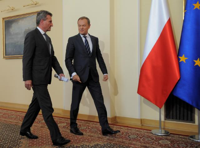 Tripartite meeting between Russia, Ukraine and EU on Russian gas, in Warsaw