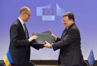 Visit of Arseniy Yatsenyuk, acting Ukrainian Prime Minister, to the EC