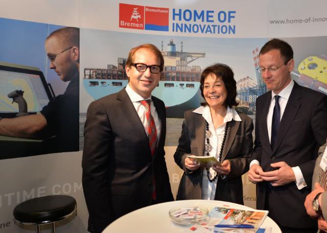Participation of Maria Damanaki, Member of the EC, at the 2014 European Maritime Day, in Bremen