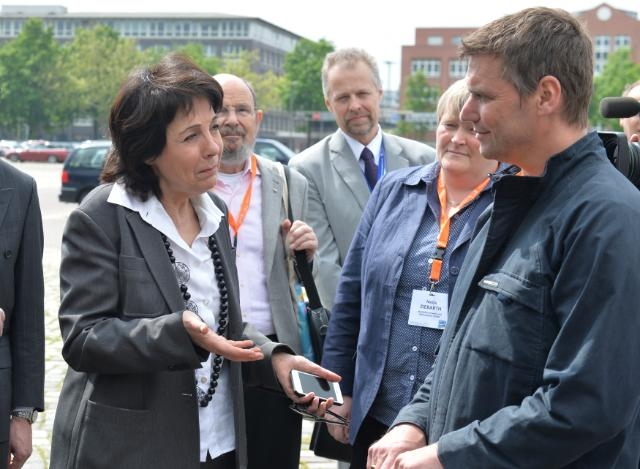 Participation of Maria Damanaki, Member of the EC, at the 2014 European Maritime Day, in Bremen
