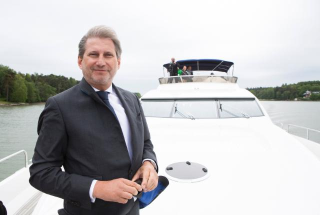 Participation of Johannes Hahn, Member of the EC, at the Annual forum of the EU Strategy for the Baltic Sea and the 16th Baltic Development Forum, in Turku