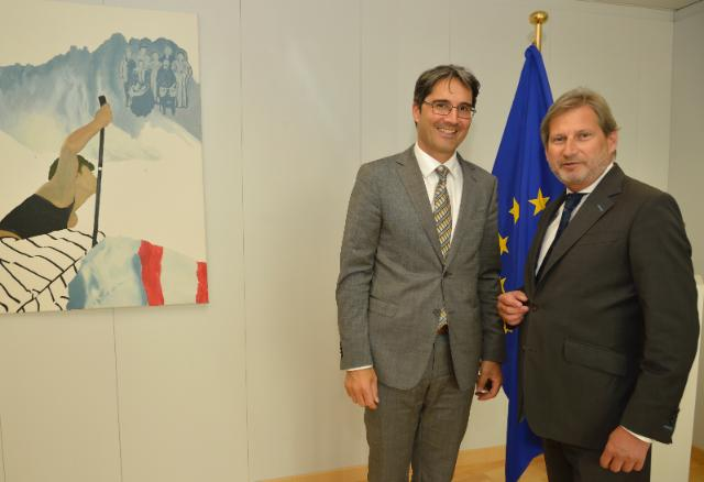 Visit of Arno Kompatscher, Governor of South Tyrol, to the EC