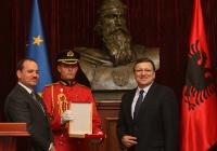 Visit of José Manuel Barroso, President of the EC, to Albania