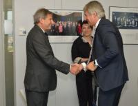 Visit of Eugen Orlando Teodorovici, Romanian Minister for EU Funds, to the EC