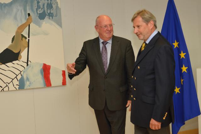 Visit of Michel Lebrun, President of the Committee of the Regions, to the EC