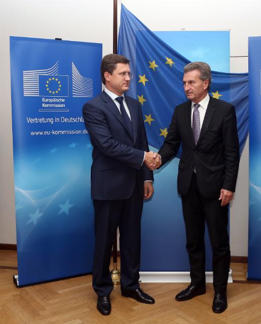Réunion trilatérale sur le gaz UE/Russie/Ukraine, Berlin, 26/09/2014