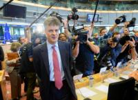 """Illustration of """"Hearing of Jonathan Hill, Member designate of the EC, at the EP"""""""