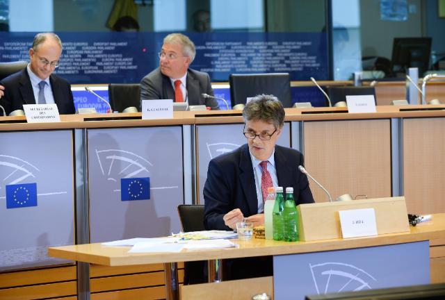 Hearing of Jonathan Hill, Commissioner designate of the EC