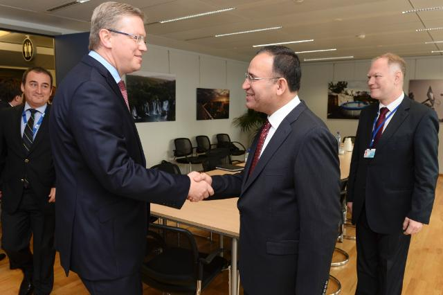 Visit of Bekir Bozdağ, Turkish Minister for Justice, to the EC