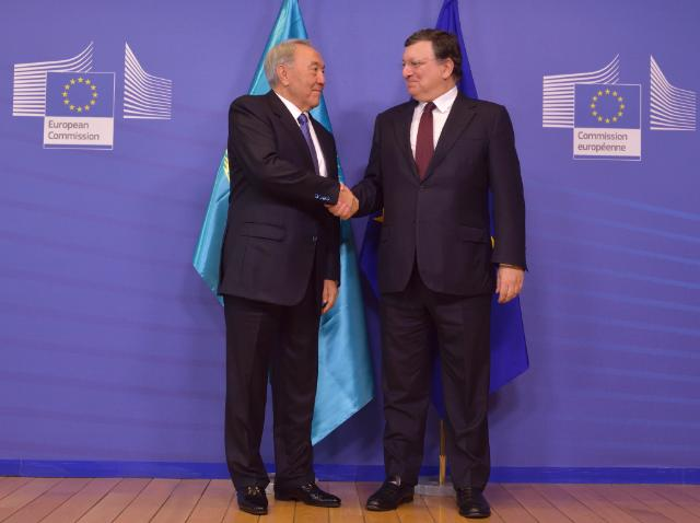 Visit of Nursultan Nazarbayev, President of Kazakhstan, to the EC