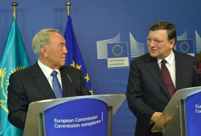 Visit of Nursultan Nazarbayev, President of Kazakhstan, to the EC