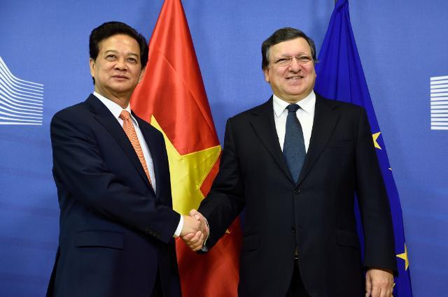Visit of Nguyễn Tấn Dũng, Vietnamese Prime Minister, to the EC