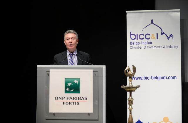"""Illustration of """"Discours de Karel De Gucht, membre de la CE chargé du Commerce au séminaire 'Catching the Indian Tiger'"""""""