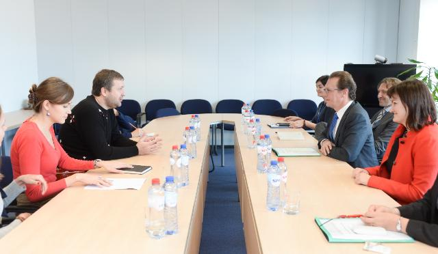 Visit of Antanas Guoga, Member of the EP, to the EC